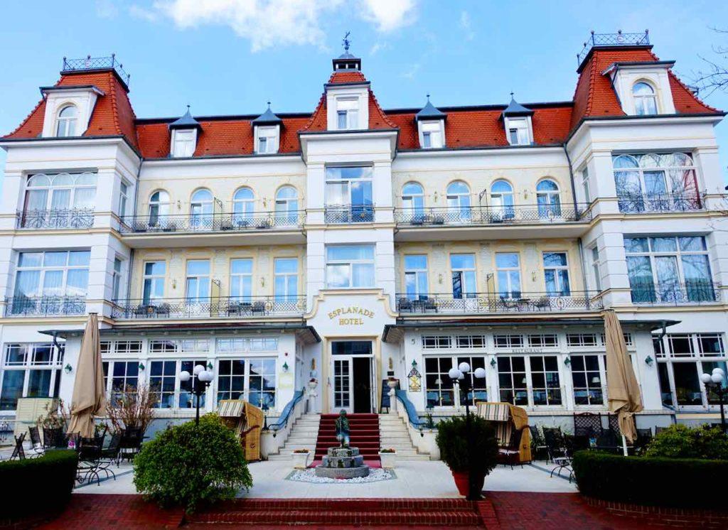 Bäderarchitektur auf Usedom: Esplanade Hotel, Heringsdorf