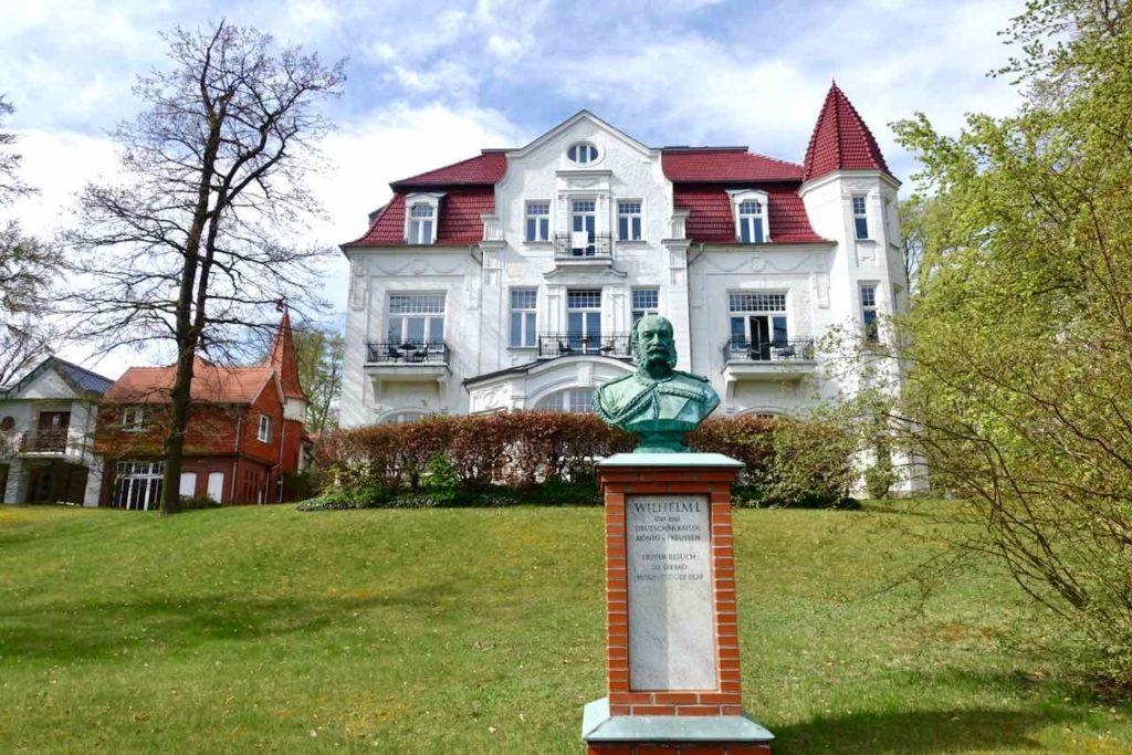 Bäderarchitektur auf Usedom, Villa Staudt 1873