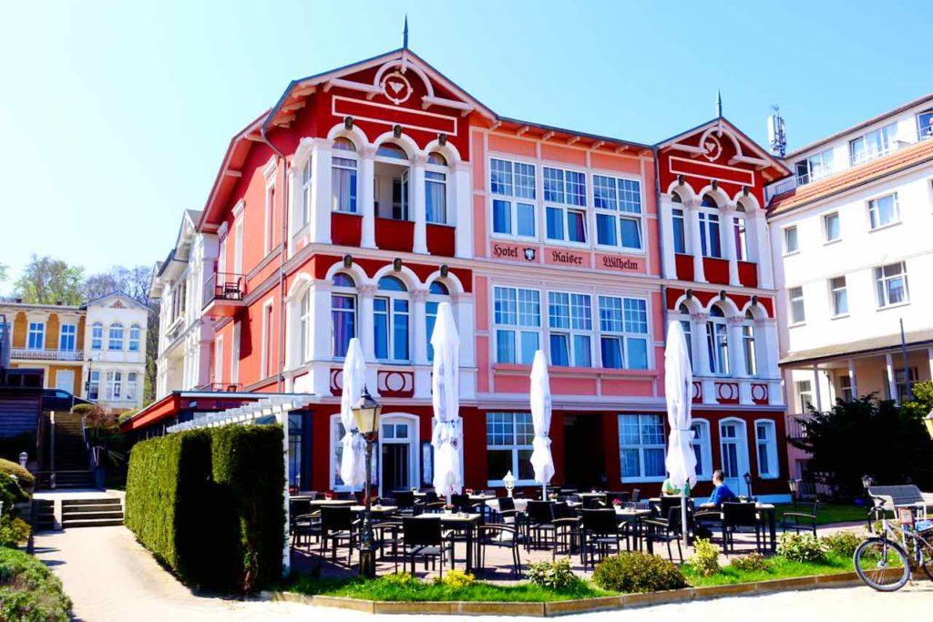 Bäderarchitektur auf Usedom: Hotel Kaiser Wilhelm in Bansin