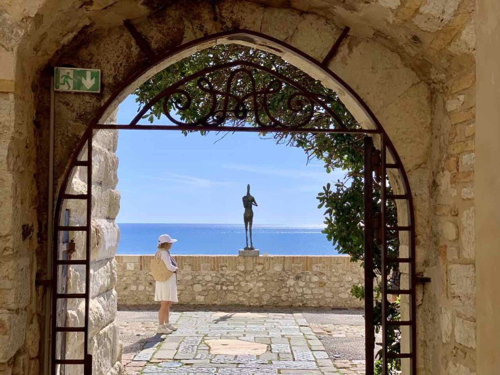 Im Picasso Museum in Antibes
