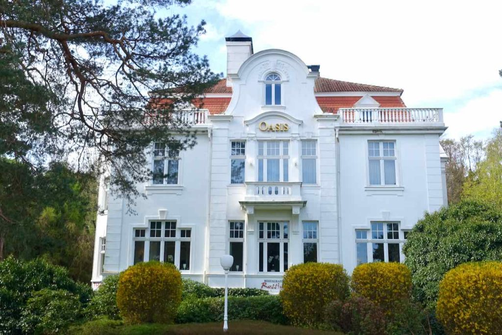 Jugendstilvill Hotel Oasis auf Usedom