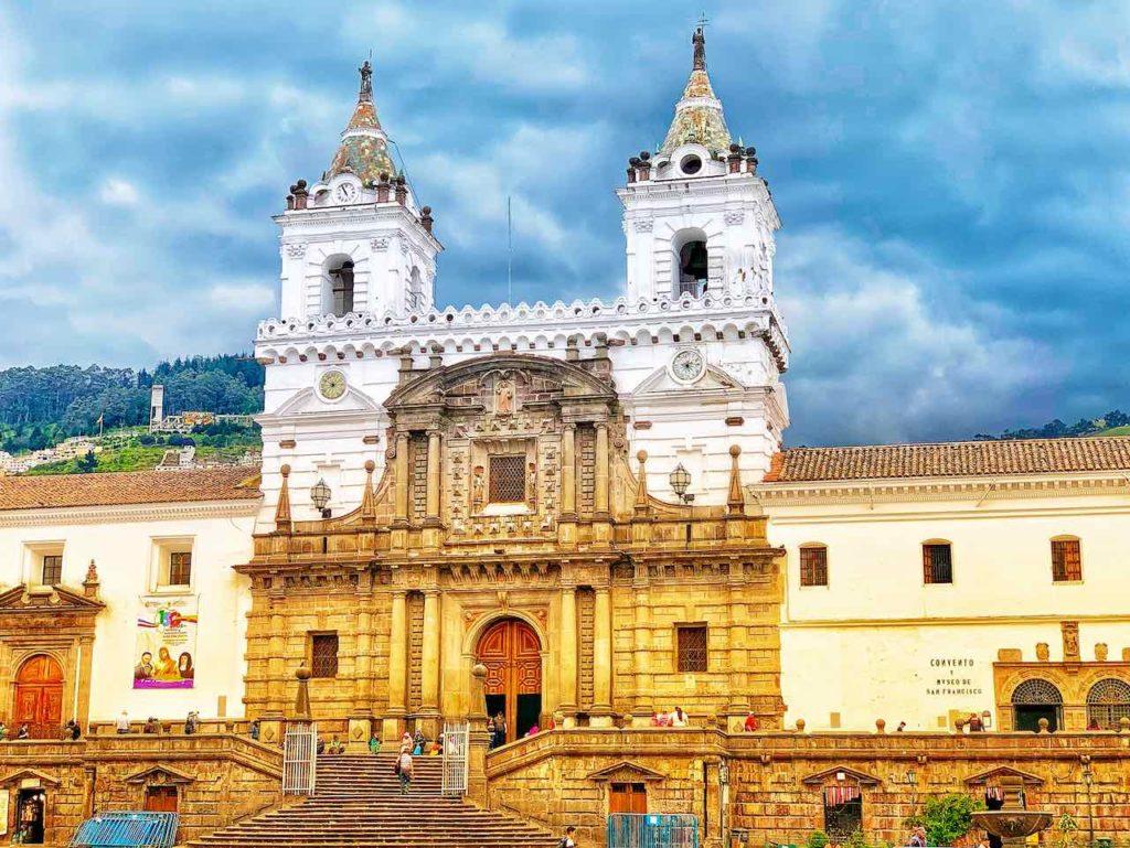 Quito Sehenswürdigkeiten: Plaza San Francisco