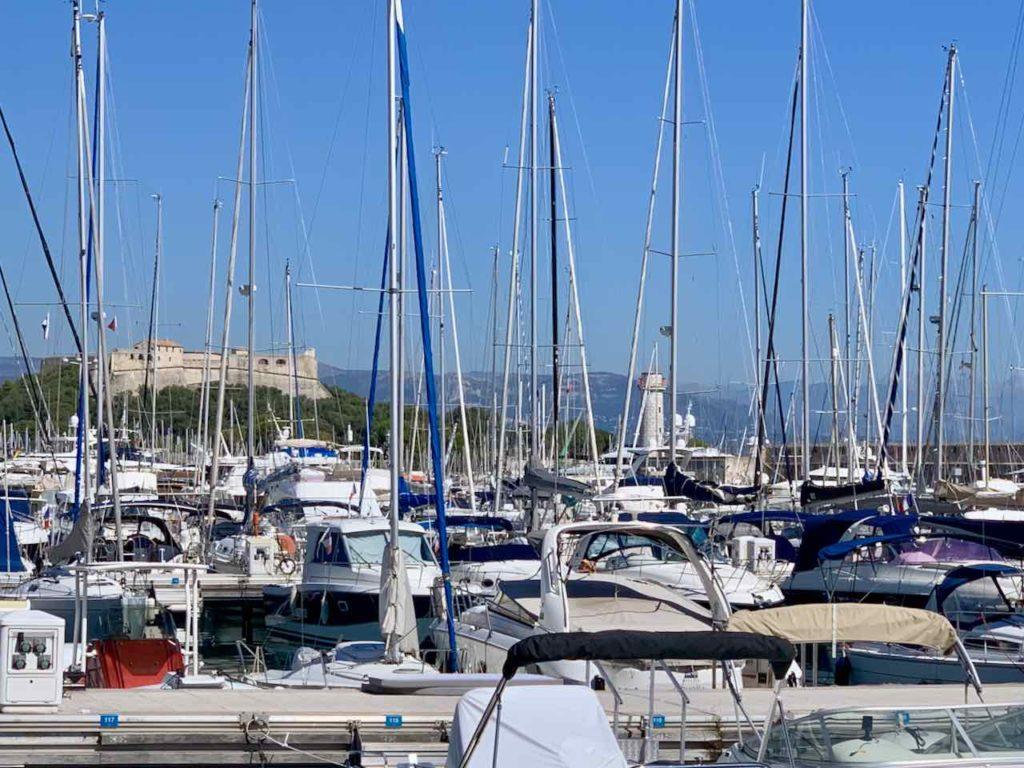 Yachthafen Port Vauban von Antibes