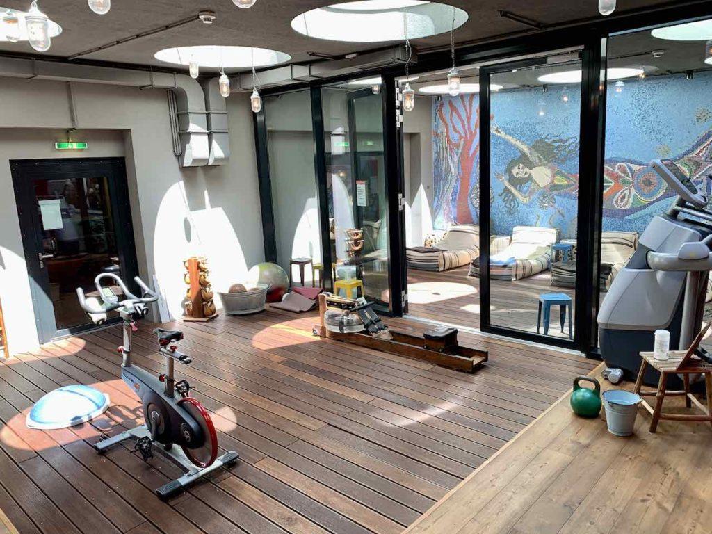 25Hours Hotel Wien, Fitnessbereich im Mermaids Cave