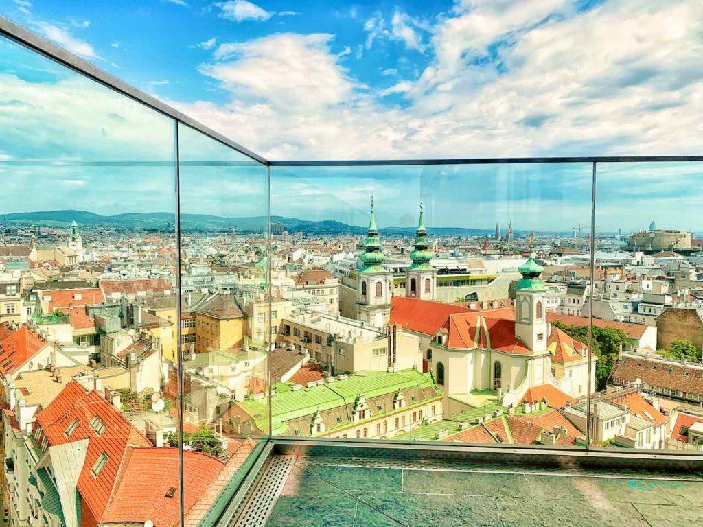 Wien Dachterrasse vom Haus des Meeres