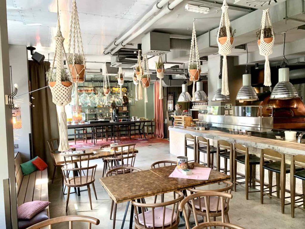 Restaurant Ribelli im 25Hours Hotel Wien