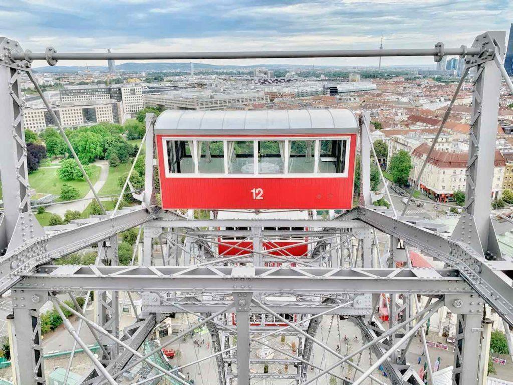 Wiener Prater: Blick vom Riesenrad