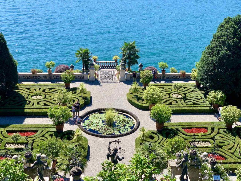 Giardino d'Amore auf der Isola Bella auf dem Lago Maggiore, Italien