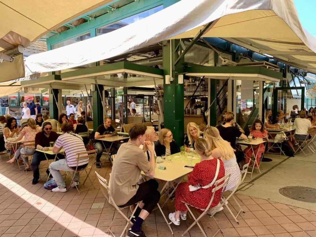 Restaurants am Naschmarkt Wien
