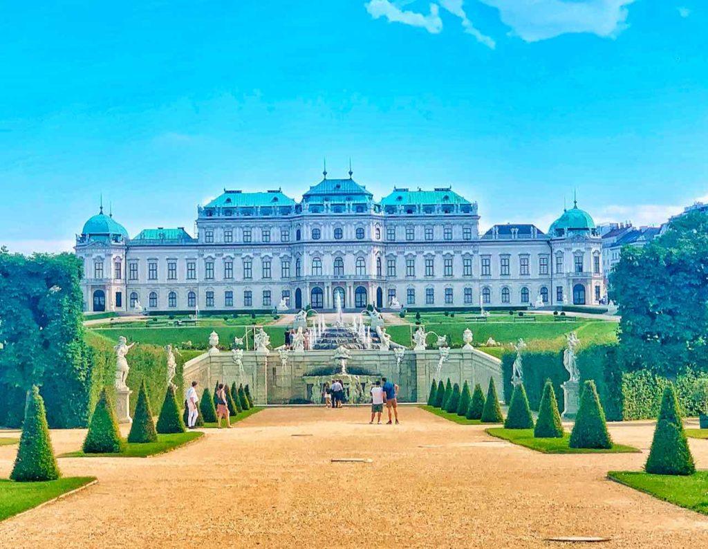 Schloss Belvedere gehört zu den Top-Sehenswürdigkeiten von Wien