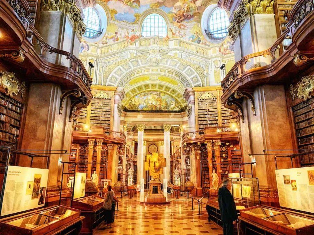 Mein persönliches Highlights ist der Prunksaal der Österreichischen Nationalbibliothek