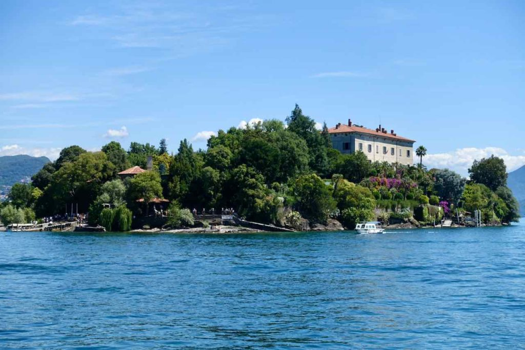 Borromäische Inseln, Isloa Madre auf dem Lago Maggiore