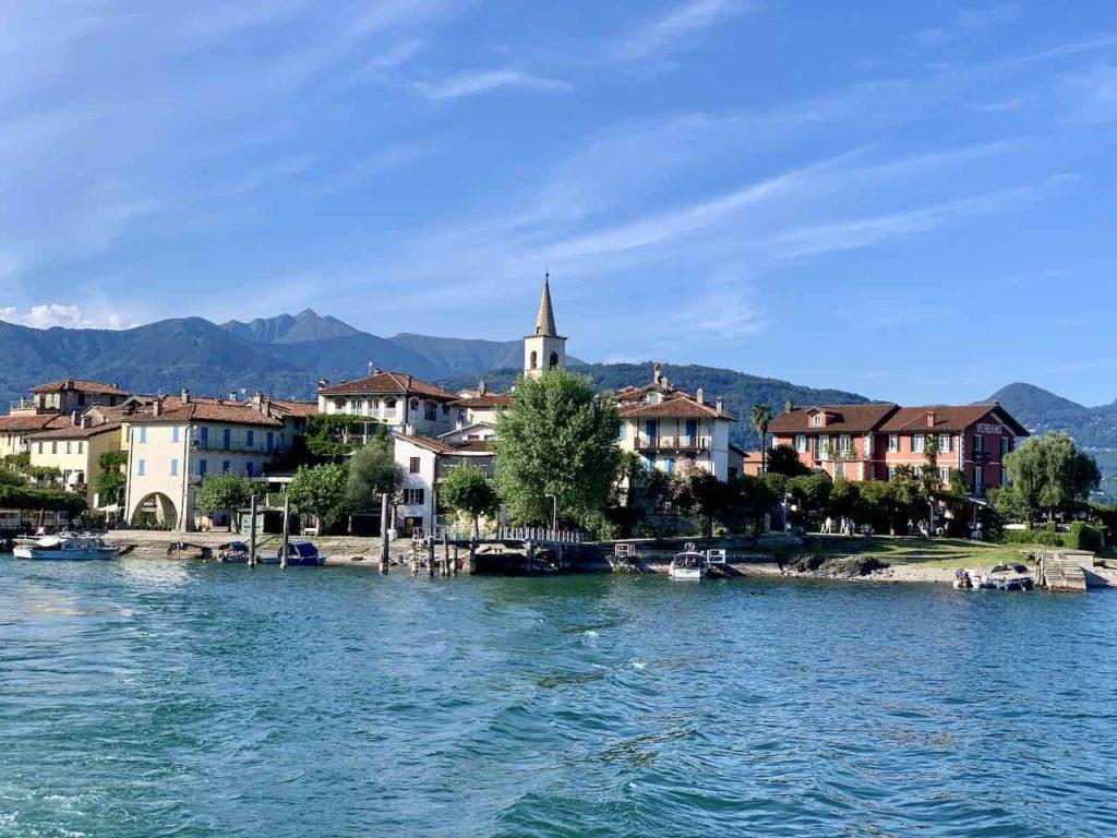 Isola dei Pescatori auf dem Lago Maggiore, Italien
