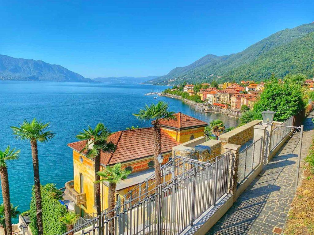 Weg nach Cannobio von Cannero am Lago Maggiore