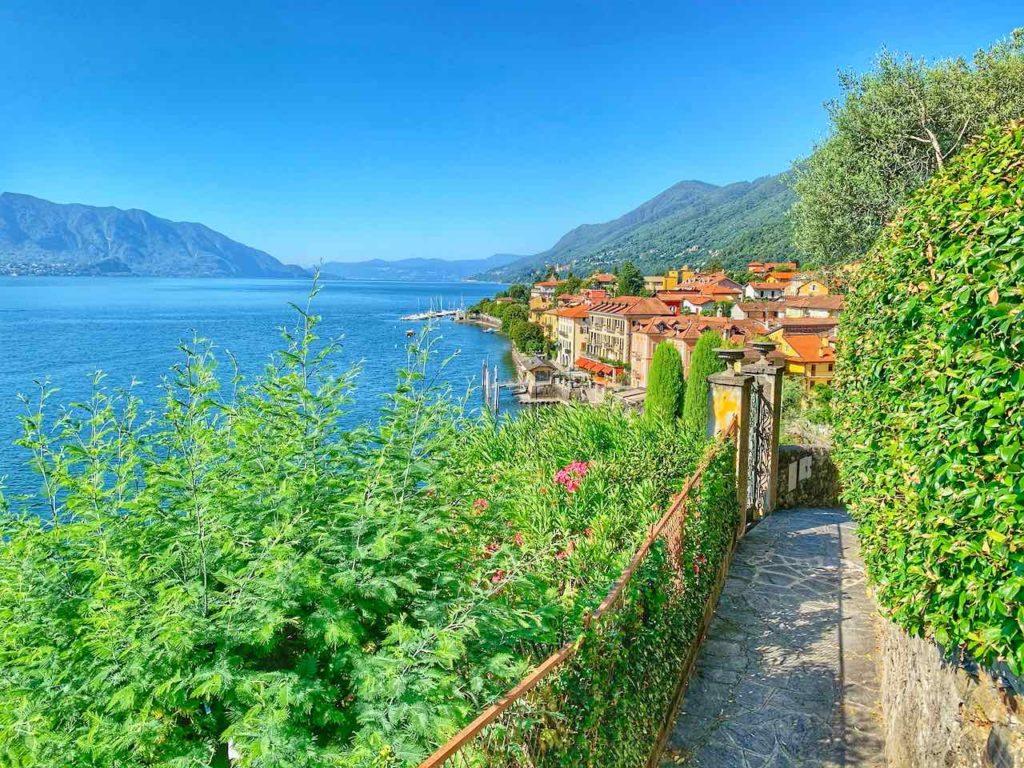 Weg von Cannobio nach Cannero am Lago Maggiore