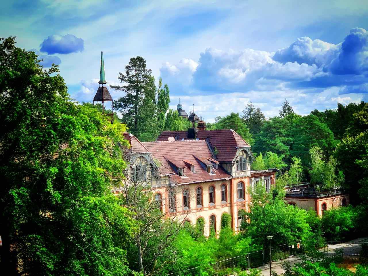 Beelitz Heilstätten - Außenansicht