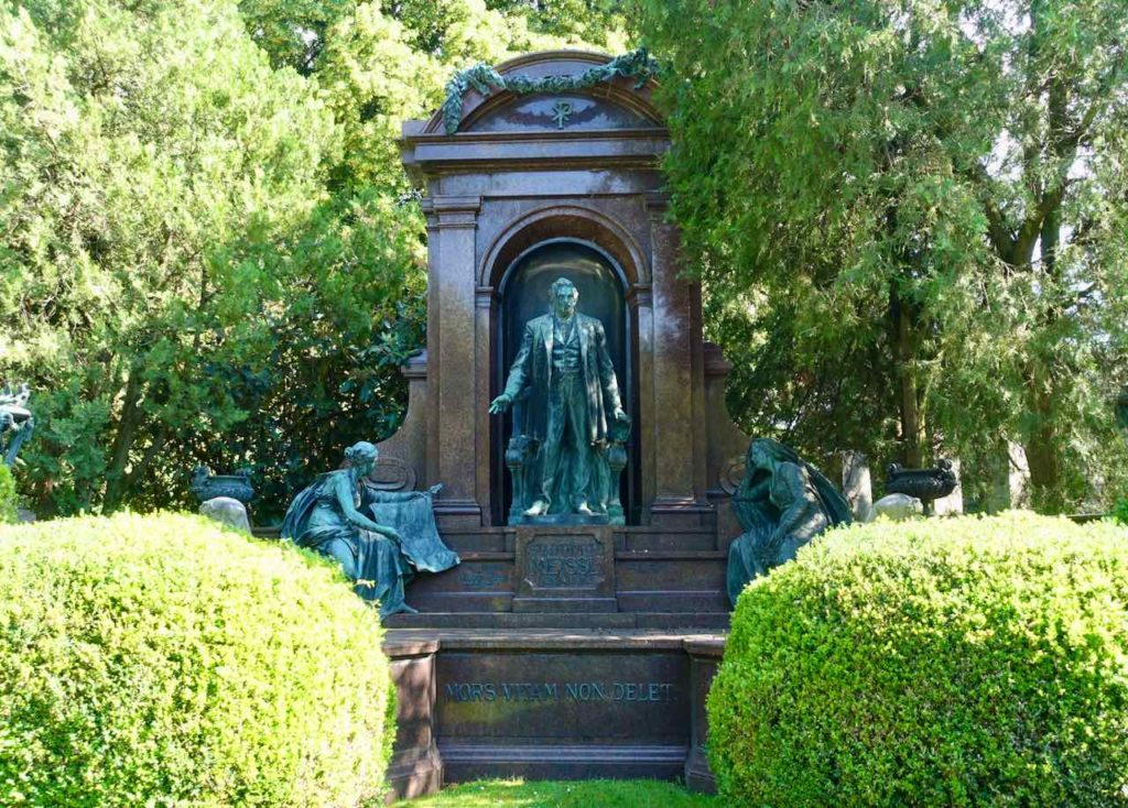 Grabstätte auf dem Zentralfriedhof Wien