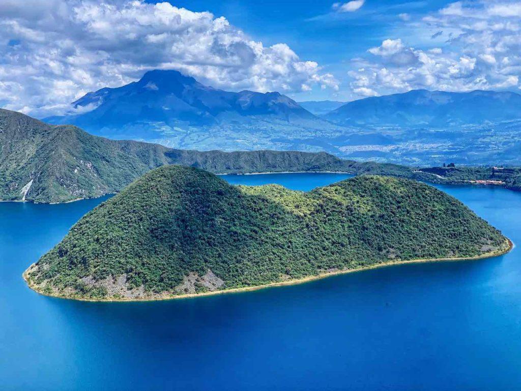Lagune Cuicocha, Ecuador