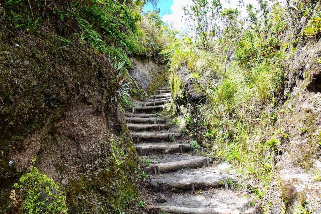 Wanderweg um die Lagune Cuicocha
