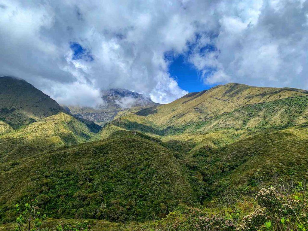 Unterwegs um die Lagune Cuicocha, Ecuador