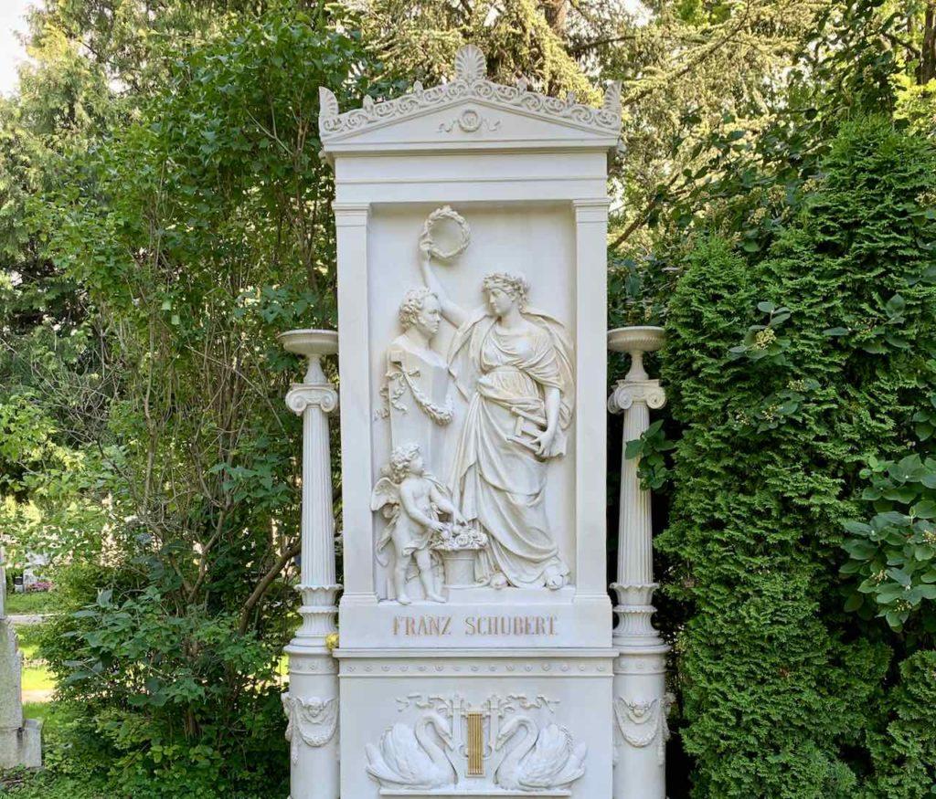 Zentralfriedhof Wien: Der Komponist Franz Schubert starb bereits im Alter von 31 Jahren