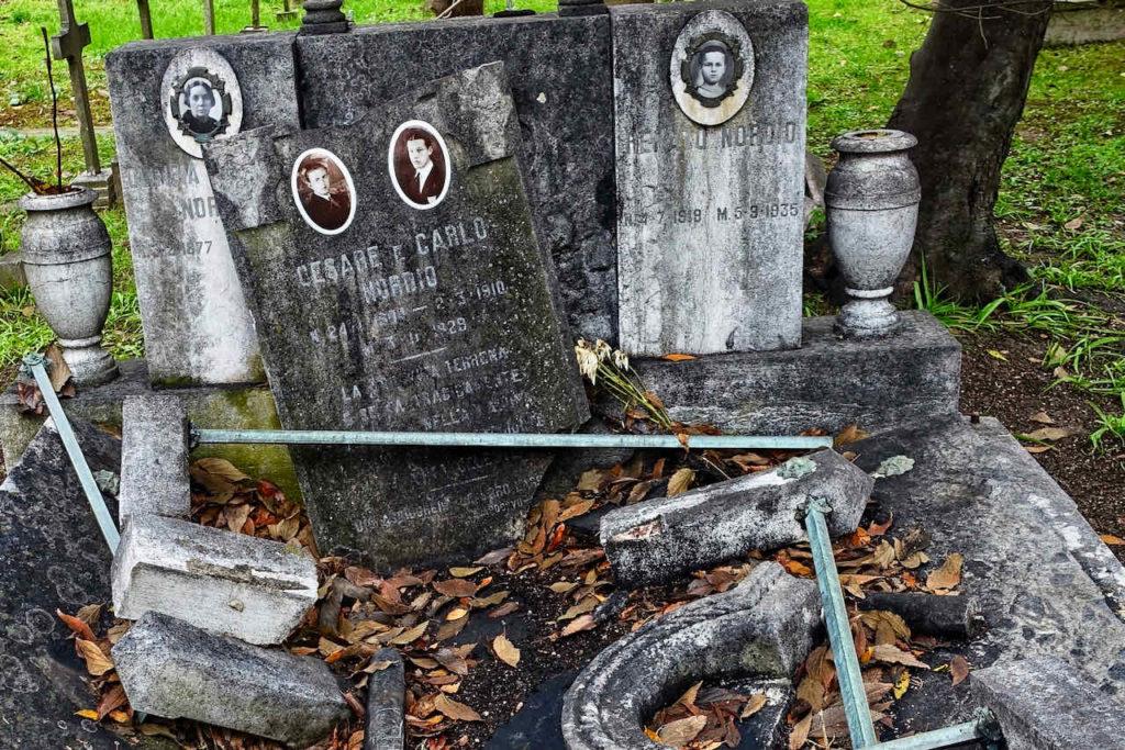 Venedigs Friedhof auf der Friedhofsinsel San Michele