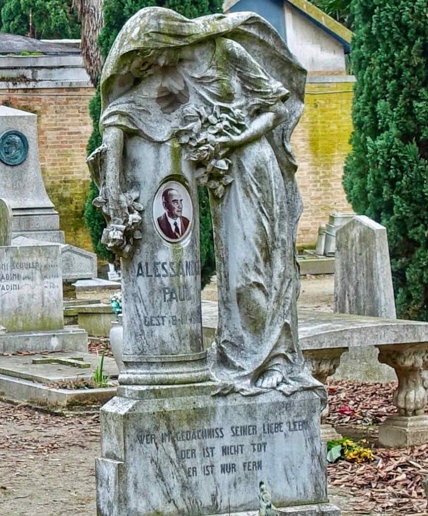 Venedig, Grabstätte auf der Friedhofsinsel San Michele