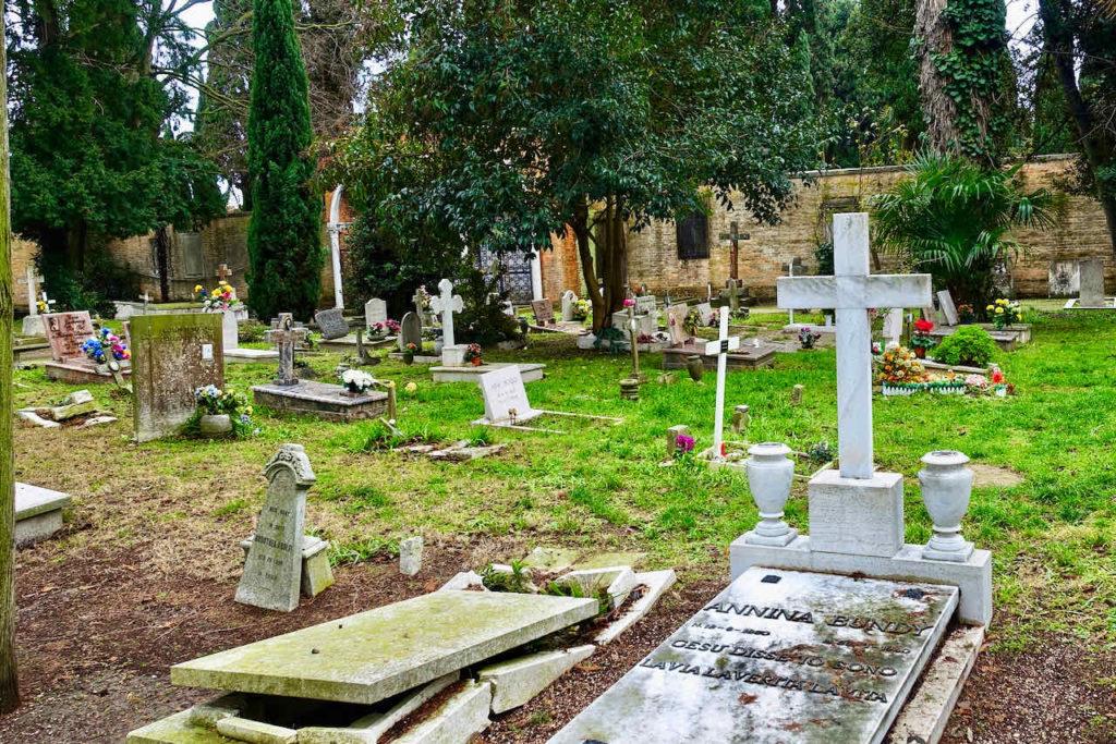 Friedhof Venedig auf der Friedhofsinsel San Michele
