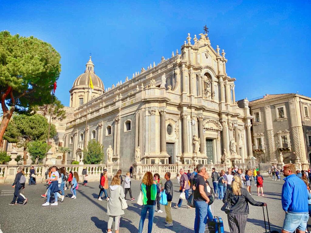 Cattedrale di Sant'Agata auf dem Piazza Duomo in Catania