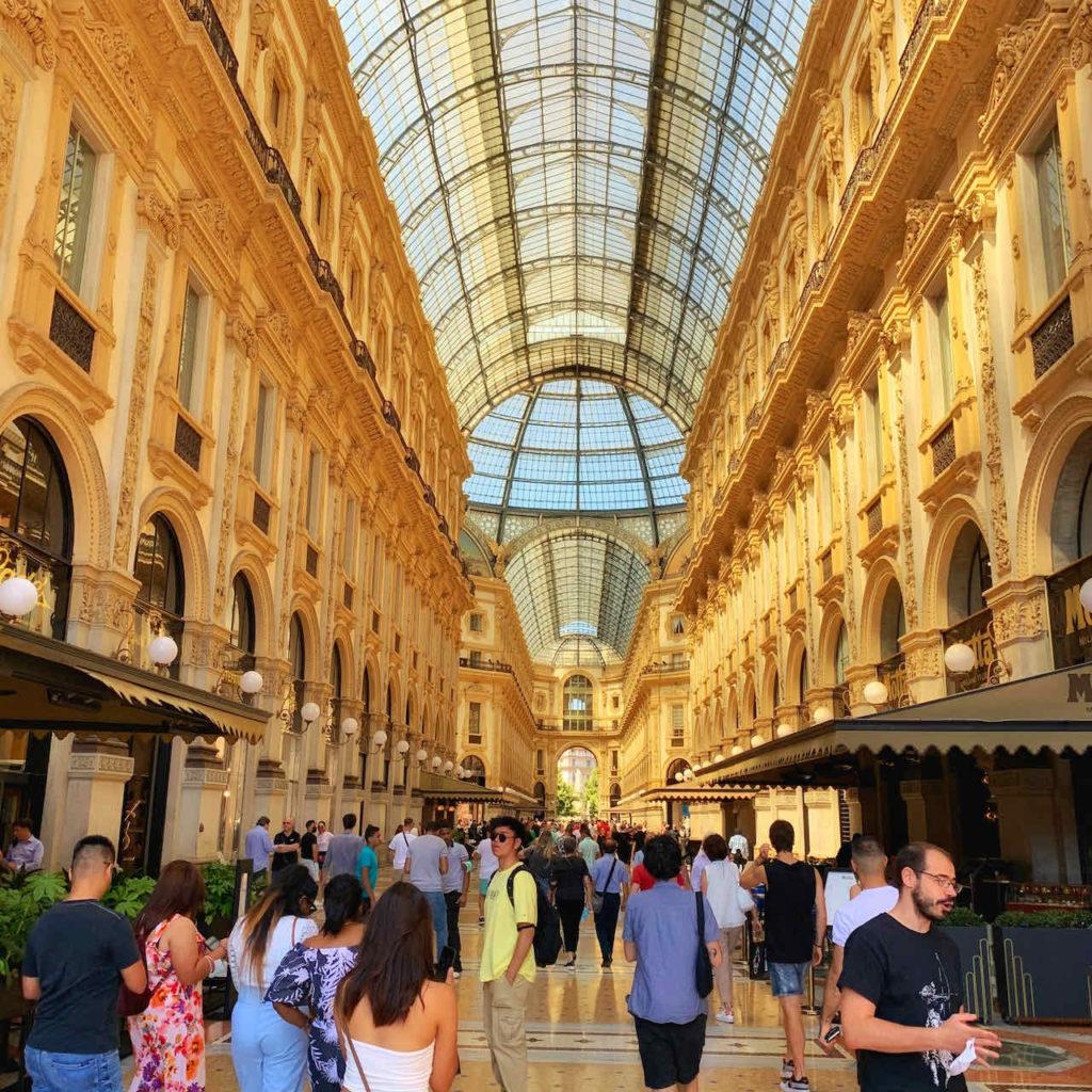 Einkaufszentrum Galleria Vittorio Emanuele II in Mailand