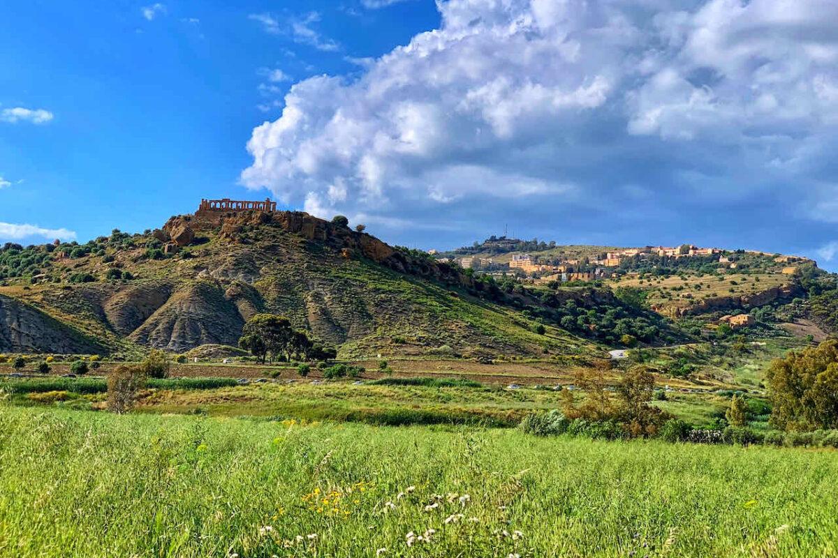 Agrigento im Süden von Sizilien