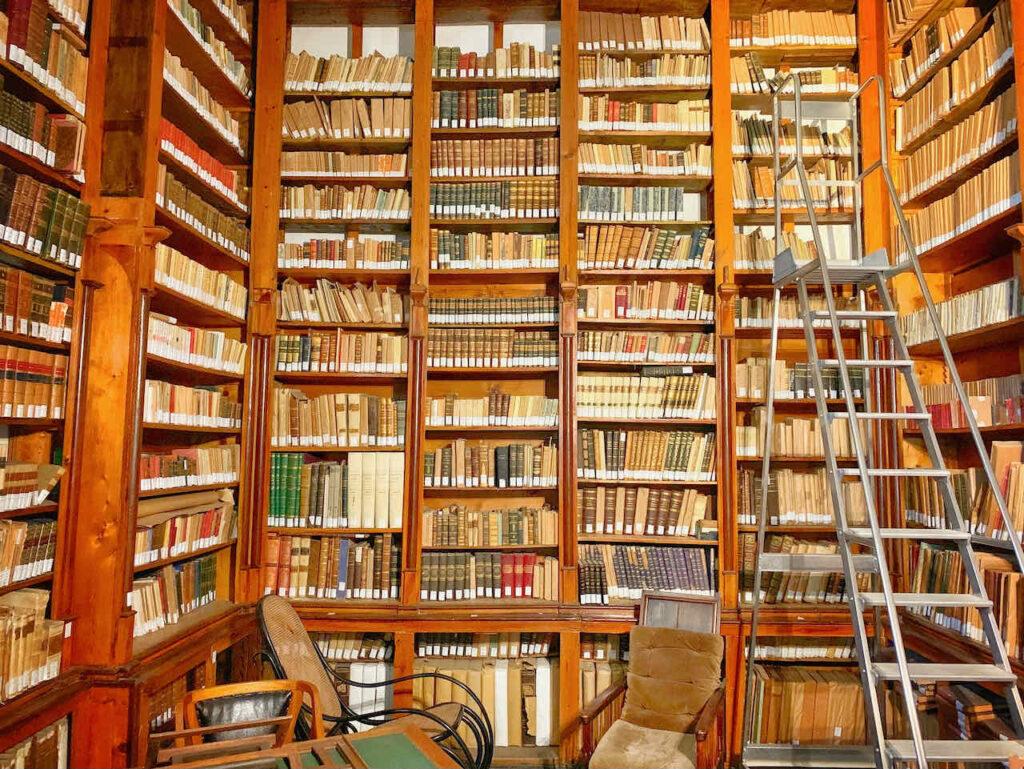 Bibliothek vom Schloß Donnafugata, Sizilien