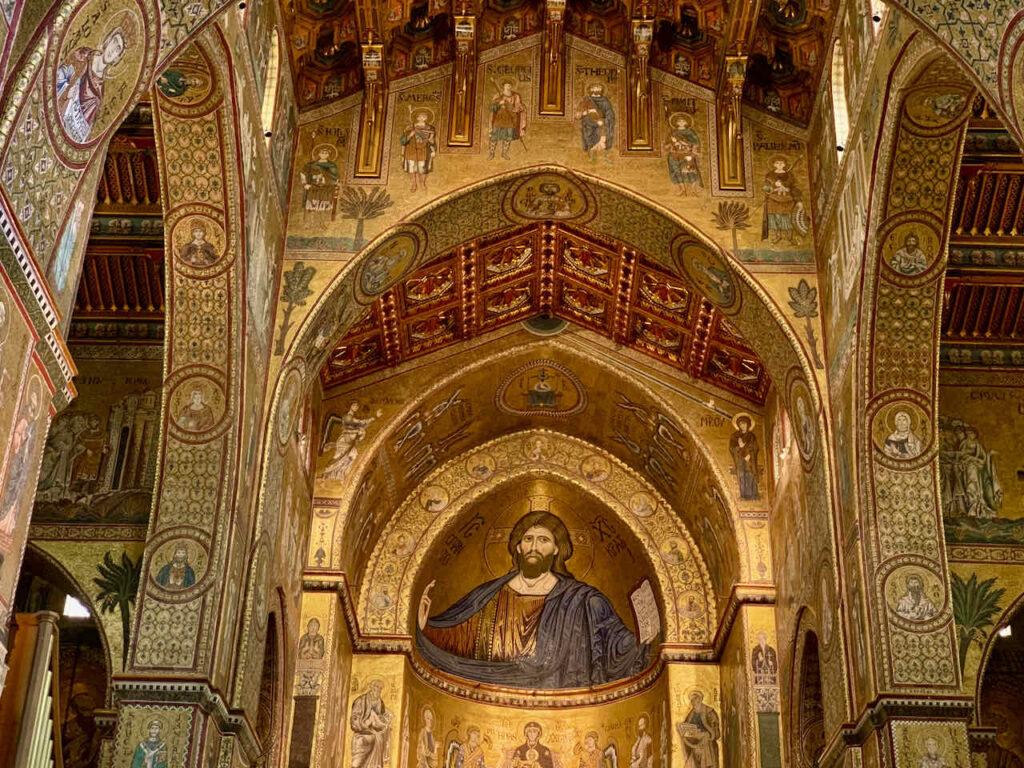 Duomo di Monreale bei Palermo, Sizilien