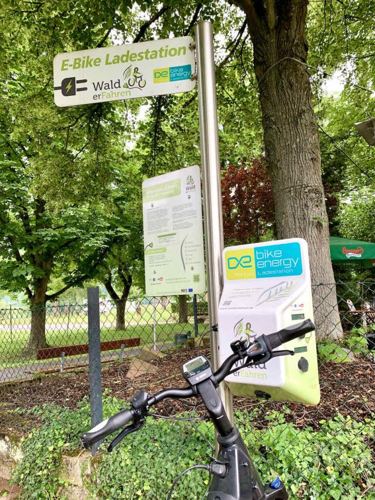 E-Bike Ladestation in Churfranken