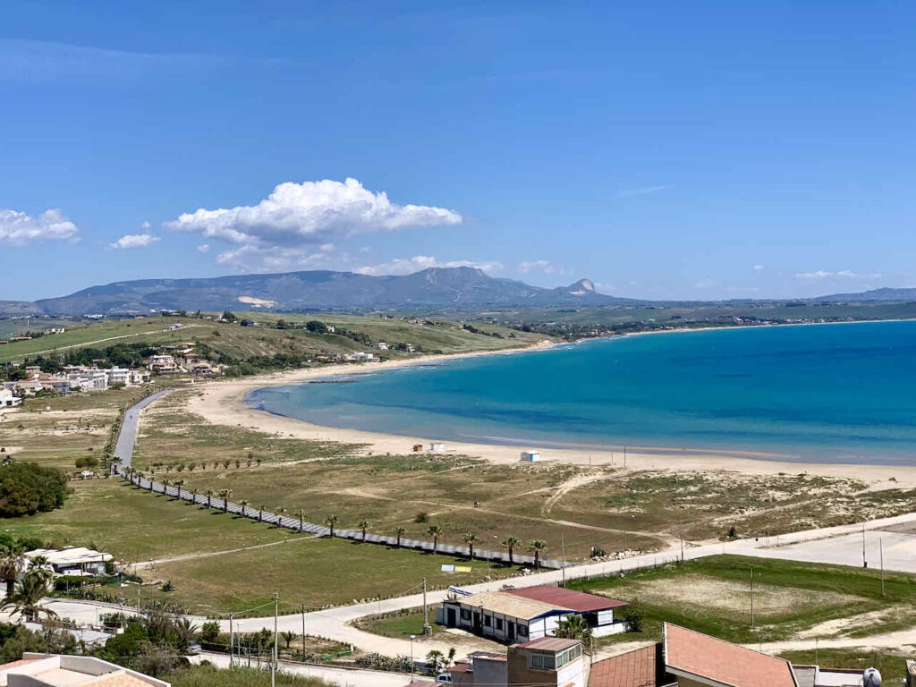 Sizilien: Strand von Porto Palo