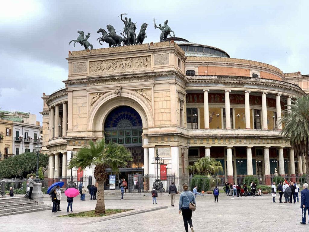 Teatro Massimo in Palermo, Sizilien