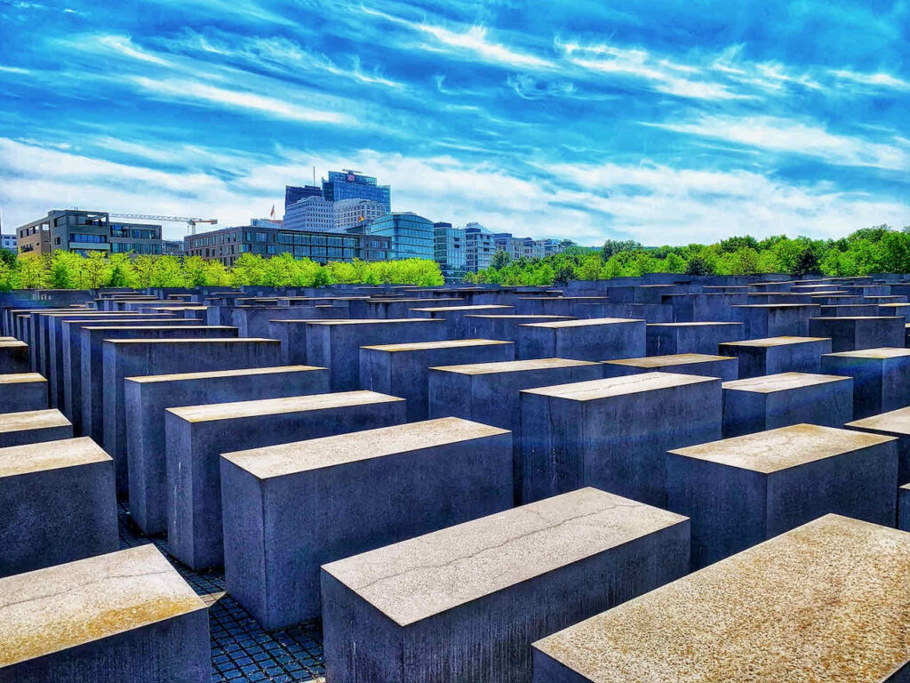 Berlin Denkmäler: Holocaust Mahnmal für die von den Nazis ermordeten Juden