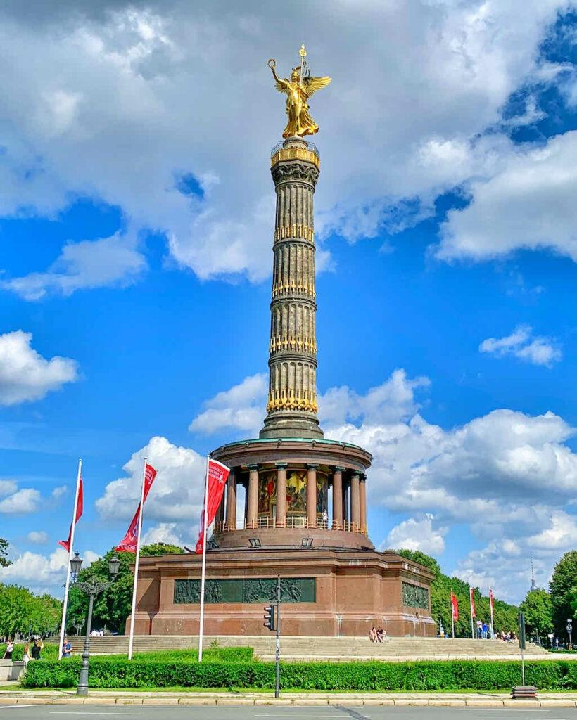 Siegessäule im Tiergarten Berlin
