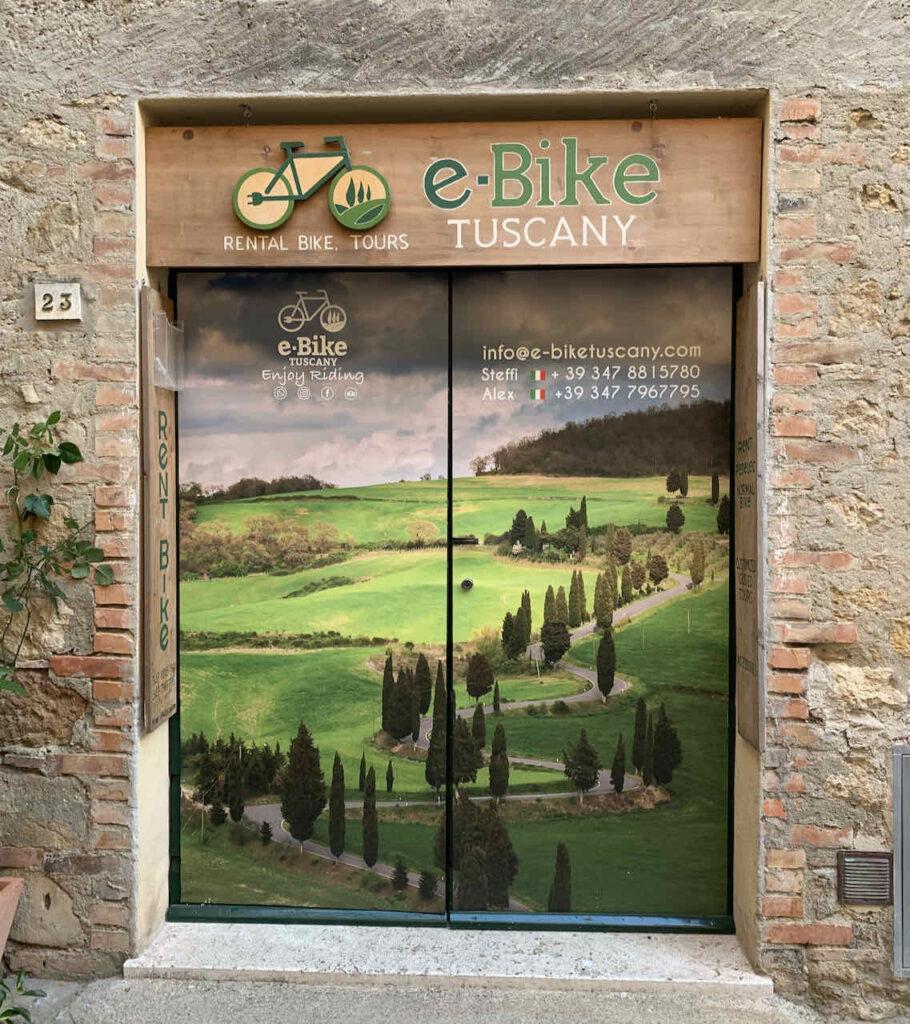 E-Bike Verleih in Pienza