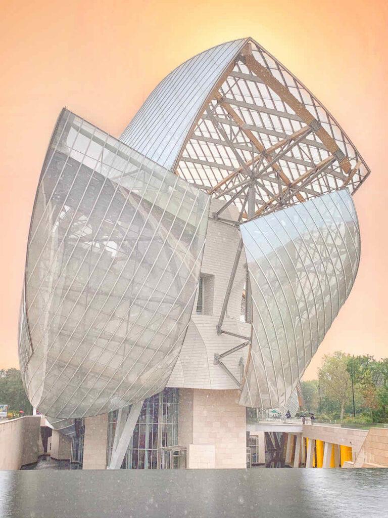 Museum der Fondation Louis Vuitton, Paris, Frankreich © PetersTravel Peter Pohle