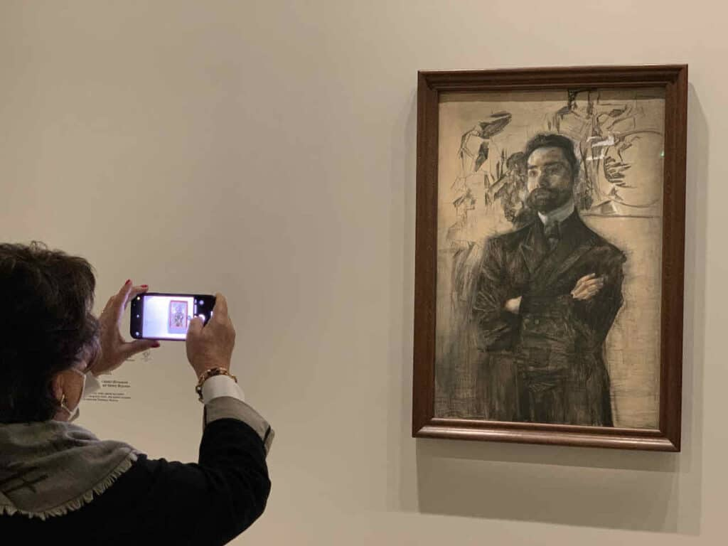 Pablo Picasso: Portrait d'Ambroise Vollard, Sammlung Morozov