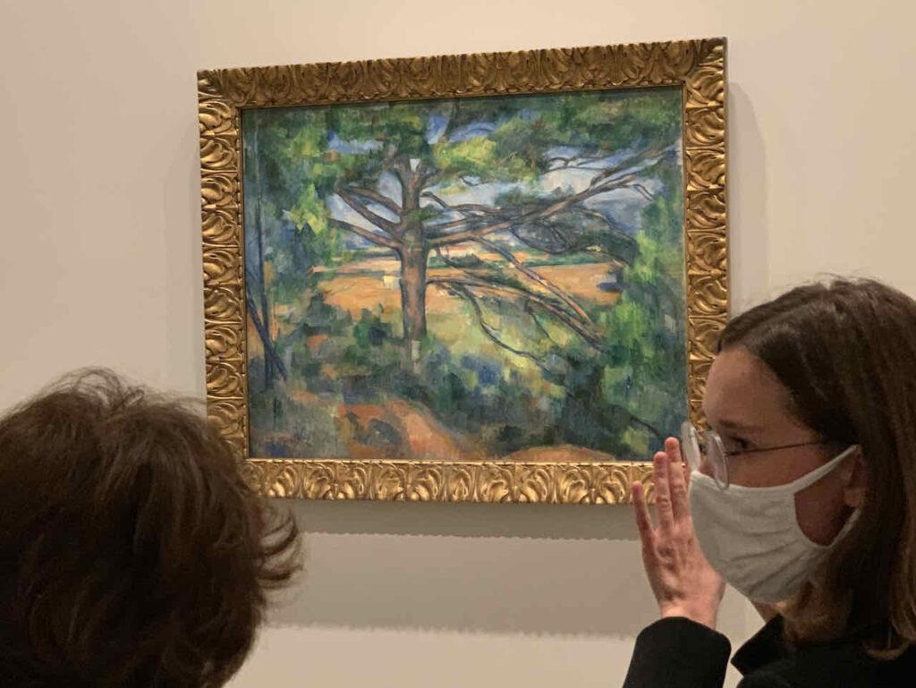 Paul Cézanne: Le grand Pin, Sammlung Morozov