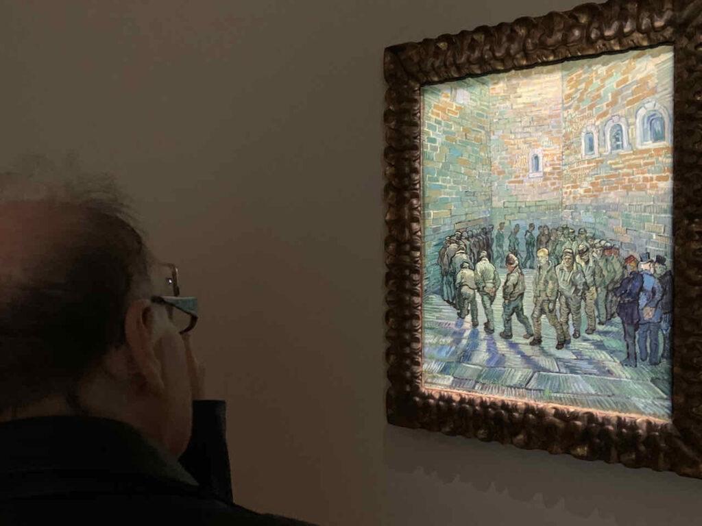 Vincent van Gogh: La Ronde de Prisonniers, Sammlung Morozov im Museum der Fondation Louis Vuitton, Paris, Frankreich